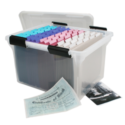 This fine organizer can accommodate letter sized files or legal sized files. Made from polypropylene construction to last for ages.
