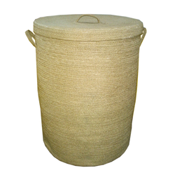 Jute Laundry Hamper