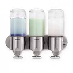 Shower Triple Dispenser