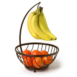 Ashley Fruit Basket & Stand