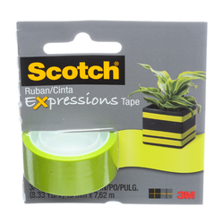 SCOTCH EXPRESSIONS GREEN TAPE