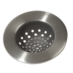 Forma Brushed Sink Strainer