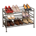 Features 3 shelves made from sturdy steel.