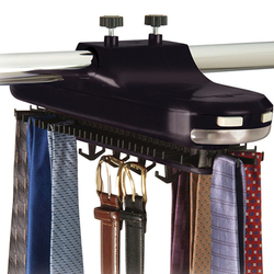 BATTERY OPERATED TIE RACK