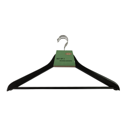 Black Basic Suit Hangers