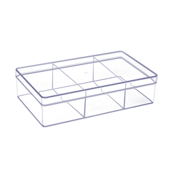 Acrylic Vanity & Drawer Organizer Large 3 compartment