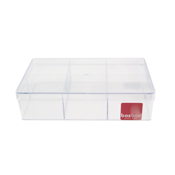 Acrylic Vanity & Drawer Organizer Large 6 compartment