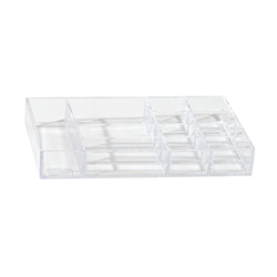 Acrylic Jewelry Organizer Tray 12 compartment