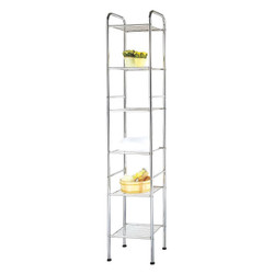 SIX TIER TOWEL SHELF