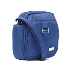 lug inifinity can can small shoulder bag | satchel | messenger bag | cobalt