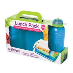 Blue Klip-It Lunch Pak.