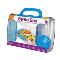 Blue Klip-It 1.76L Bento Box
