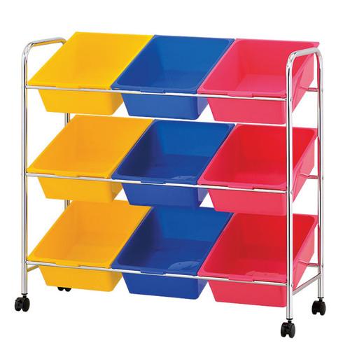 9 Plastic Drawer Storage Cart | plastic storage drawers | storage cart | rolling storage cart | plastic drawers