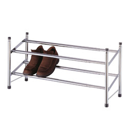 chrome-plated  shoe rack | shoe storage | shoe racks | shoe shelf | shoe shelves
