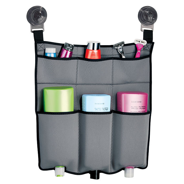 shower caddy | shower organizer | fabric shower organizer | organizer