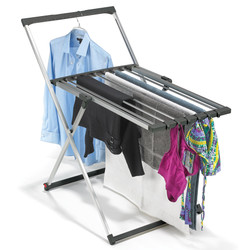 Polder Ultralight Laundry Stand shown in use