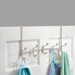 SPA OVER DOOR RACK- 5 HOOK