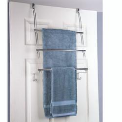 Jackson Over the Door 3 Towel Bar in Chrome
