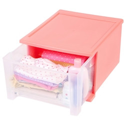 Stacking Drawer in Coral