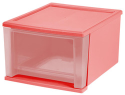 Stacking Drawers Coral Blush