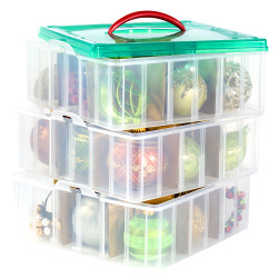 SNAPWARE SNAP 'N STACK 3 LAYER ORNAMENT KEEPER