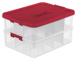 STACK & CARRY 2 LAYER ORNAMENT BOX