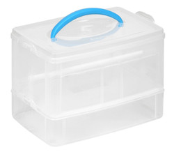"Snapware® Snap 'N Stack® 3 Layer Home Storage 6"" x 9"""