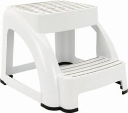 STEP STOOL (2-STEP) - WHITE