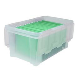 LETTER WING LID FILE BOX