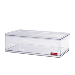 BOXBOX LOW STACKABLE DISPLAY CASE