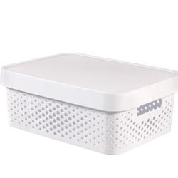 INFINITY 11L BOX WHITE DOT
