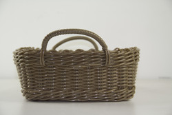 GATHERING BASKET LIGHT BROWN