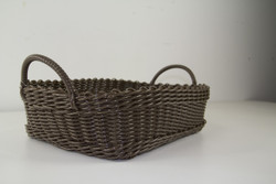 GATHERING BASKET DARK BROWN