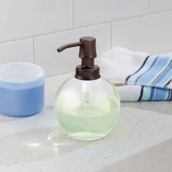 OLIVIA GLASS SOAP PUMP,14 8 OZ