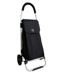 SPRINT BLACK SHOPPING TROLLEY