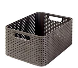 STYLE BOX M DK BROWN
