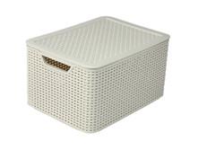 STYLE BOX L+LID CREAM