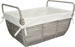 PAPER ROPE STORAGE WITH LINER RECTANGULAR LARGE