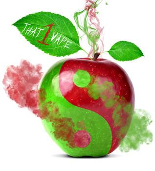 Apple Yin Yang E Liquid