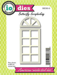Arched Window Door American made Steel Dies by Impression Obsession DIE105-U New