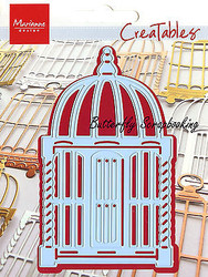 Bird Cage Marocco Craft Steel Die by Marianne Design Creatables Die LR0146 New