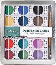 Blending Chalk 30 PEARLESCENT Chalks 1 Applicator 45 tops PEBBLES 742005 New