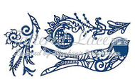 BUILD A BIRD Phoenix Set DIES Craft Die Cutting Die Tattered Lace Dies D720 New