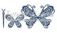 BUILD A BUTTERFLY Set DIES Craft Die Cutting Die Tattered Lace Dies D655 New
