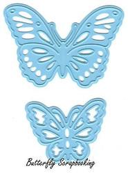 BUTTERFLY Butterflies Die Cutting Dies Marianne Design Creatables Die LR0356 New
