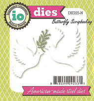 Christmas Dove Set American Made Steel Dies by Impression Obsession DIE225-N New