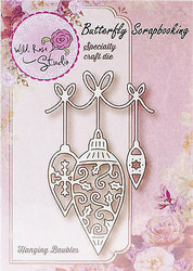 Christmas Ornaments Creative Steel Die Cutting Dies WILD ROSE STUDIO SD034 New