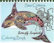 Coloring Book Ocean Sea Criters Animal Spirits 15 Pages EARTH ART Sue Coccia New