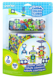 Cosmic Robots Fused Bead Kit EK SUCCESS Kids Craft Beads by Perler NEW 80-56003