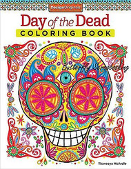 DAY OF THE DEAD Coloring Book For Markers & Colored Pencils Design Originals New